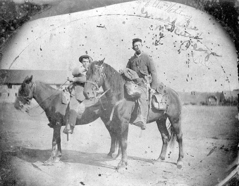 Fort Scott soldiers