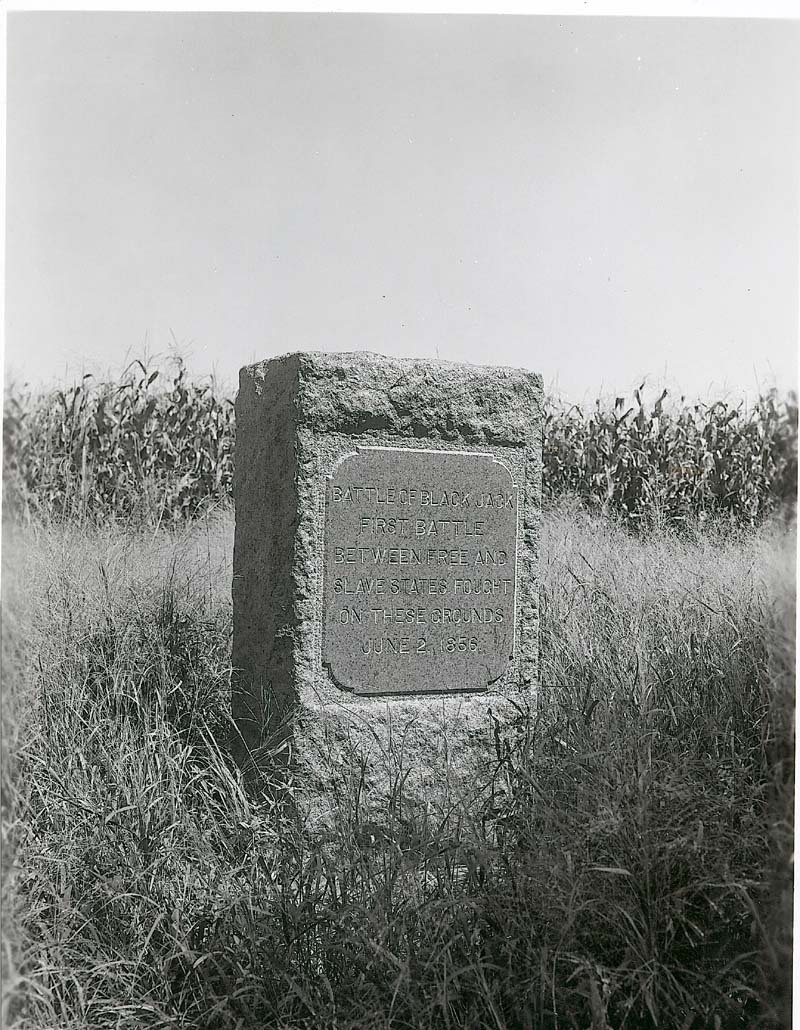 Black Jack Monument, Douglas County