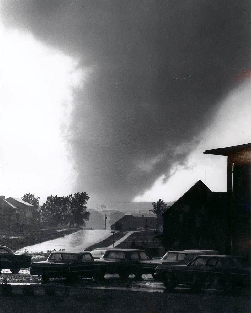 Tornado, Topeka, Kansas