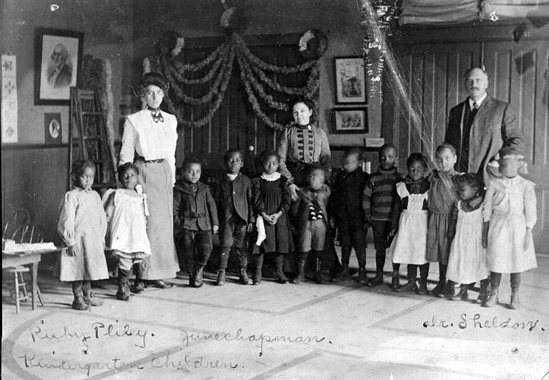 Tennessee Town kindergarten, Topeka, Kansas