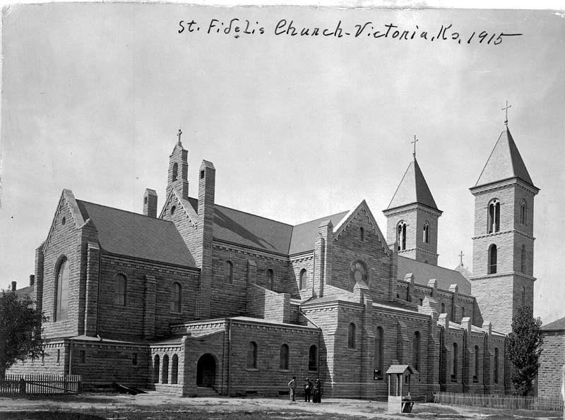 St. Fidelis Church, Victoria, Kansas