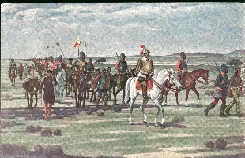 Coronado sets out to discover Quivira