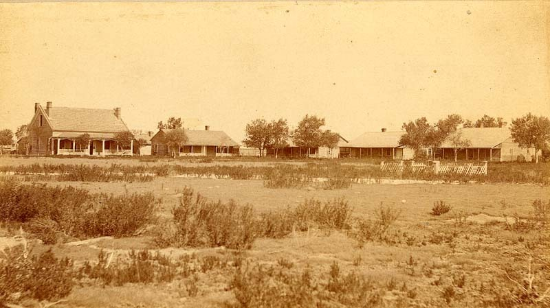 Fort Wallace, 1880's