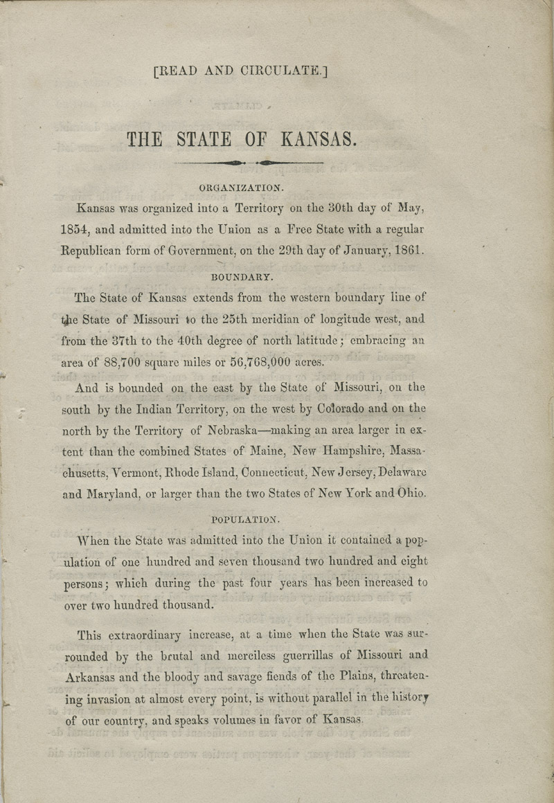 The state of Kansas: a home for immigrants - pg. [3]