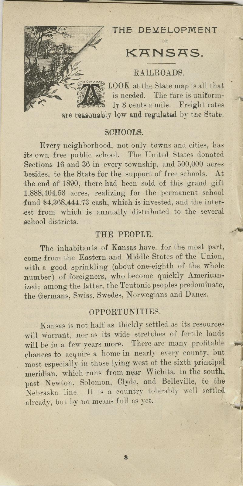 Lands in Kansas - pg. 8