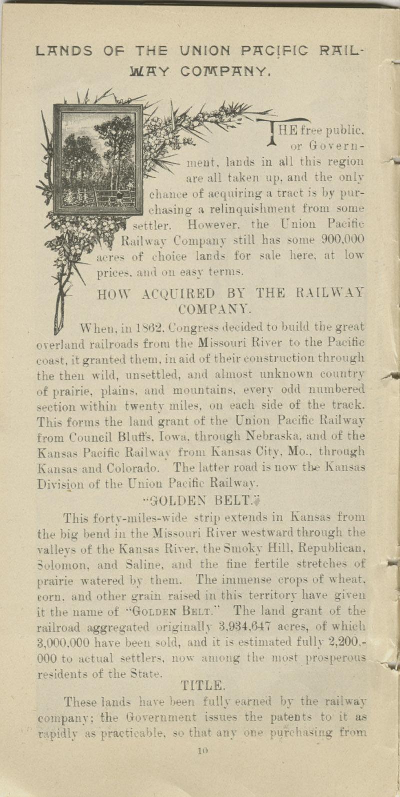 Lands in Kansas - pg. 10