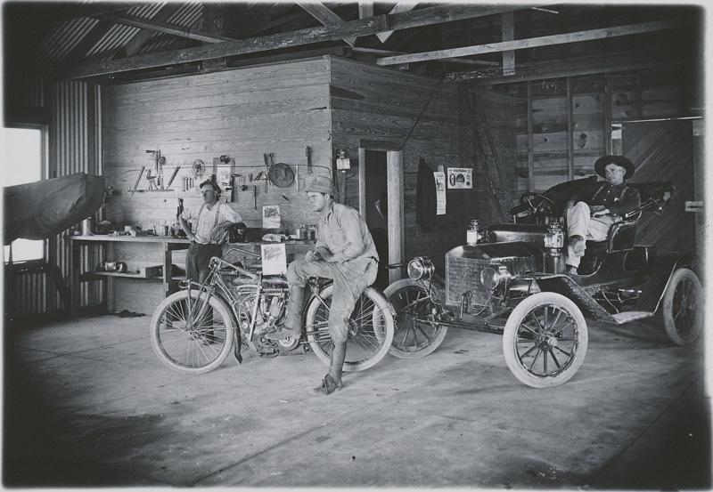 Brown's Garage, Dorrance, Kansas