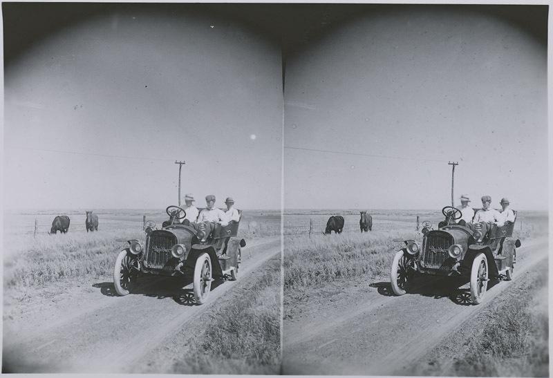 Rambler automobile, Russell County, Kansas