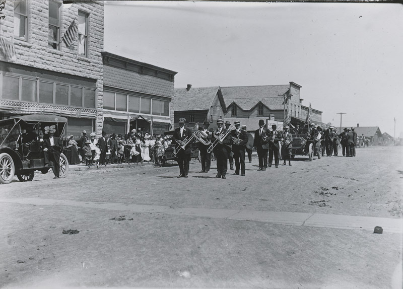 Memorial Day parade, Dorrance, Russell County, Kansas