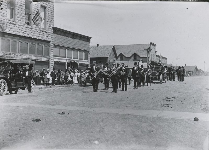 Memorial Day parade, Dorrance, Russell County, Kansas