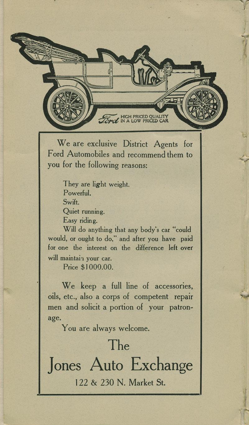 Automobile Club of Wichita Year Book - ad [4]