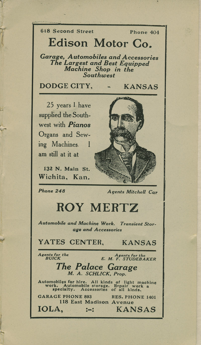 Automobile Club of Wichita Year Book - ad [5]