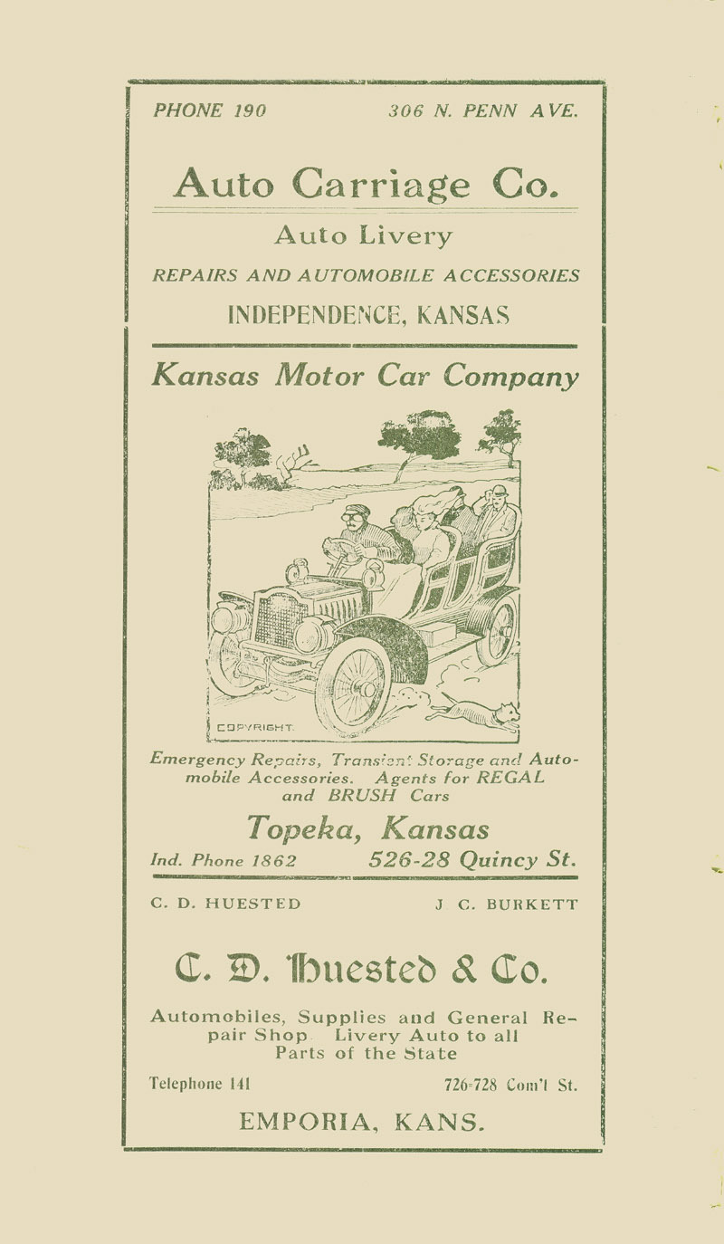 Automobile Club of Wichita Year Book - ad [6]