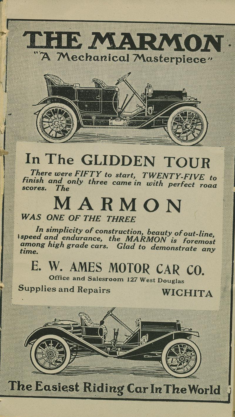 Automobile Club of Wichita Year Book - ad [9]