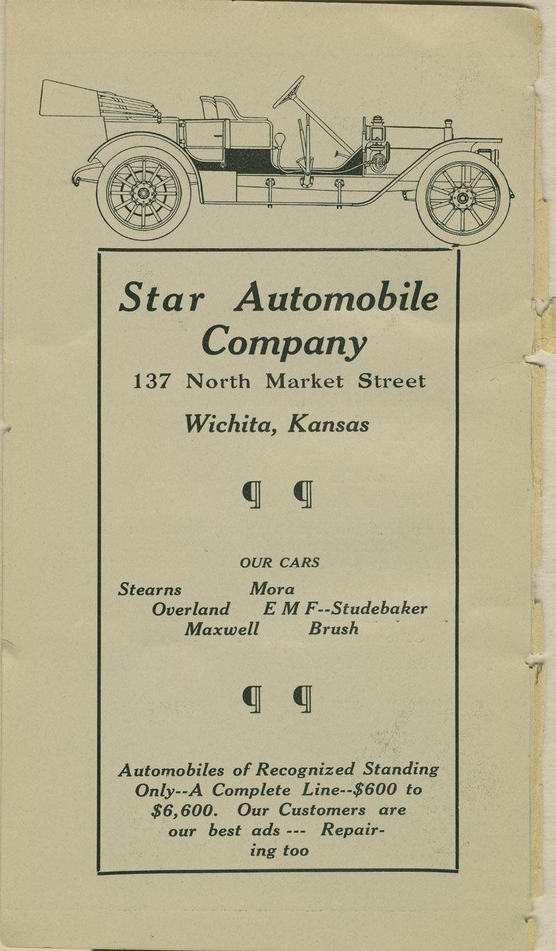 Automobile Club of Wichita Year Book - ad [10]