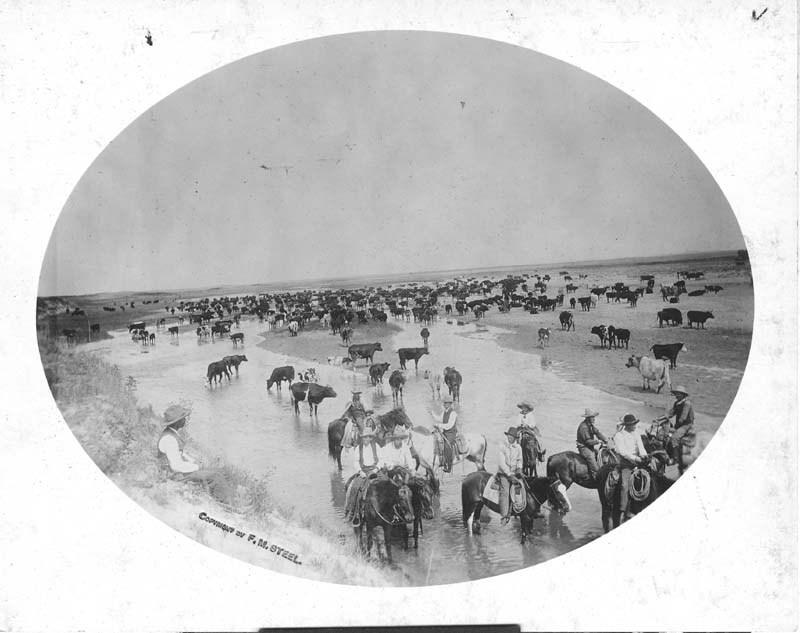Sam Gabbert's ranch between Englewood and Ashland, Kansas