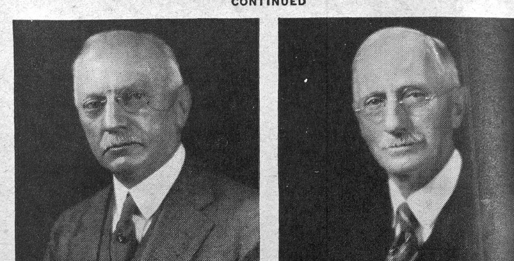 Elmer and Bert Underwood