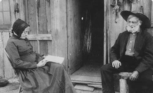 Mr. and Mrs. Gant, Kiowa County