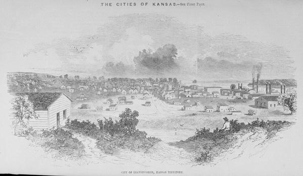 Leavenworth, Kansas Territory