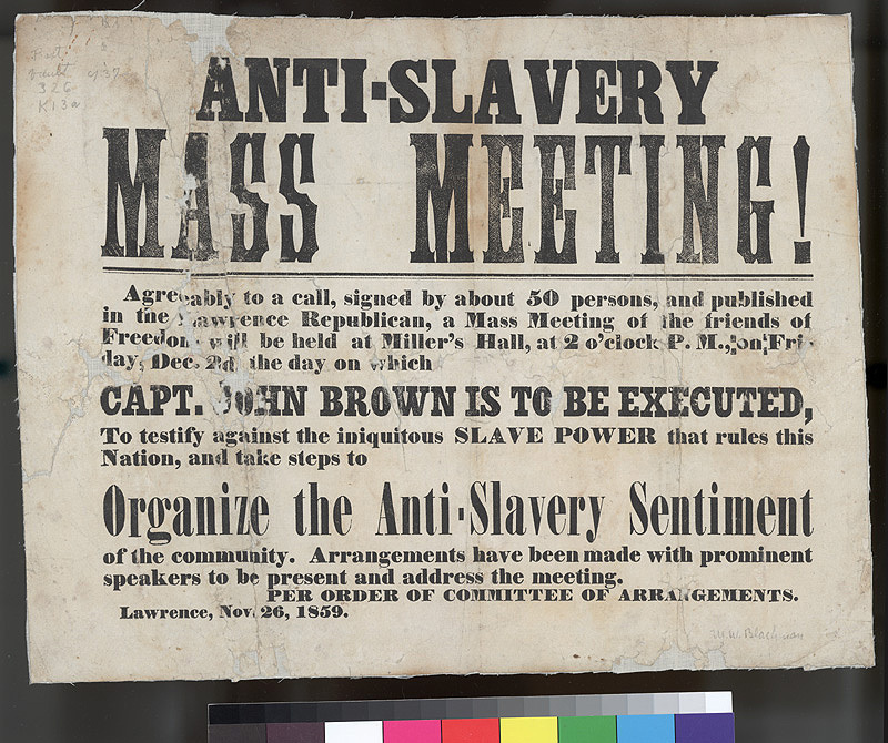 Anti-Slavery Mass Meeting