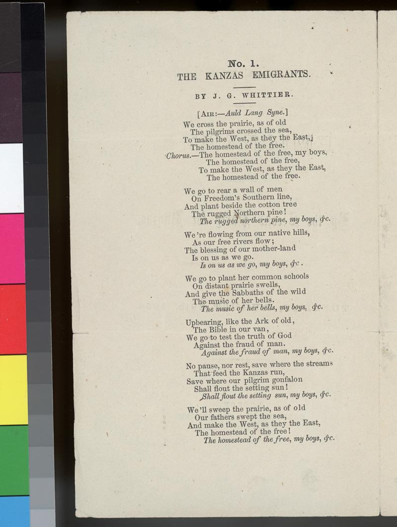 """""""Lays of the Emigrants"""" lyrics - p. 2"""