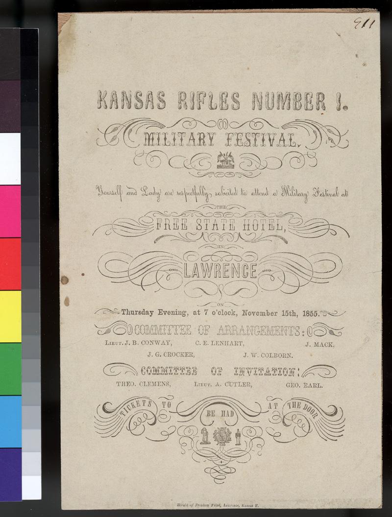 Kansas Rifles Number 1 Military Festival