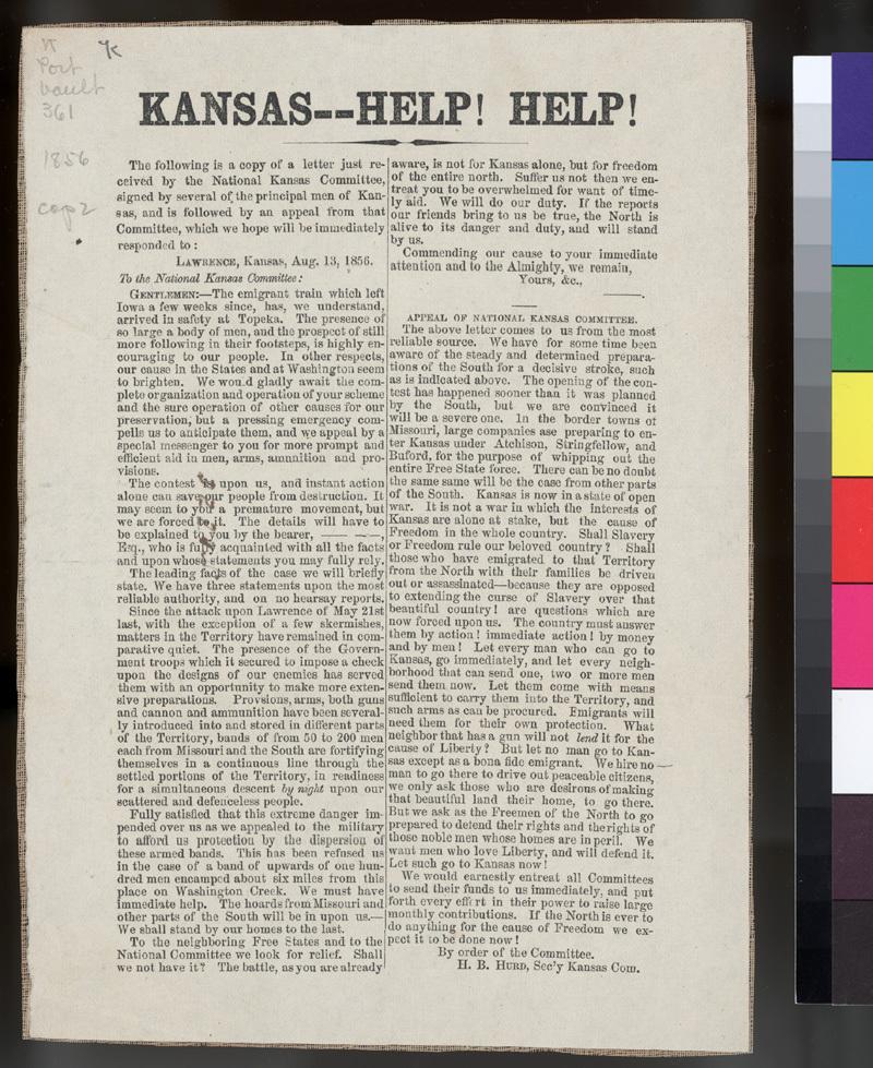 Kansas--Help! Help!