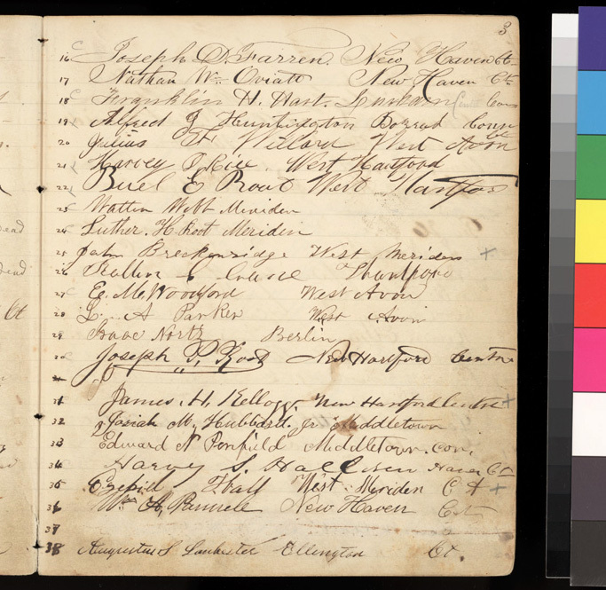Connecticut Kansas Colony record book, 1856-1857 - p. 3