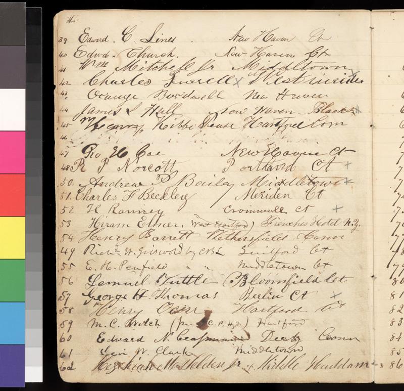 Connecticut Kansas Colony record book, 1856-1857 - p. 4