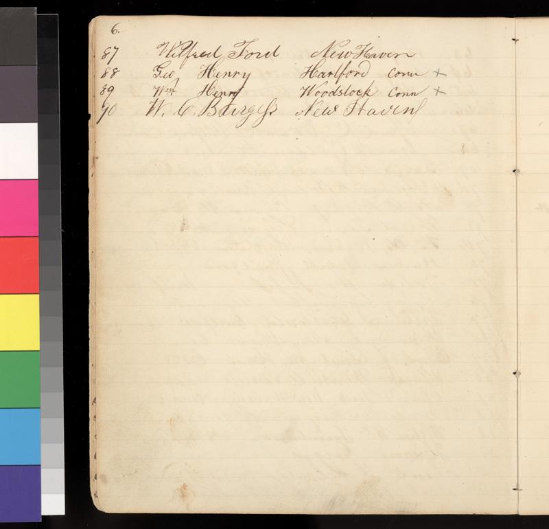 Connecticut Kansas Colony record book, 1856-1857 - p. 6