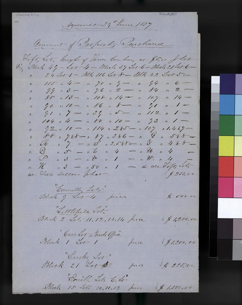 Atchison land sale between Samuel Pomeroy and Theodore Hyatt - p. 4