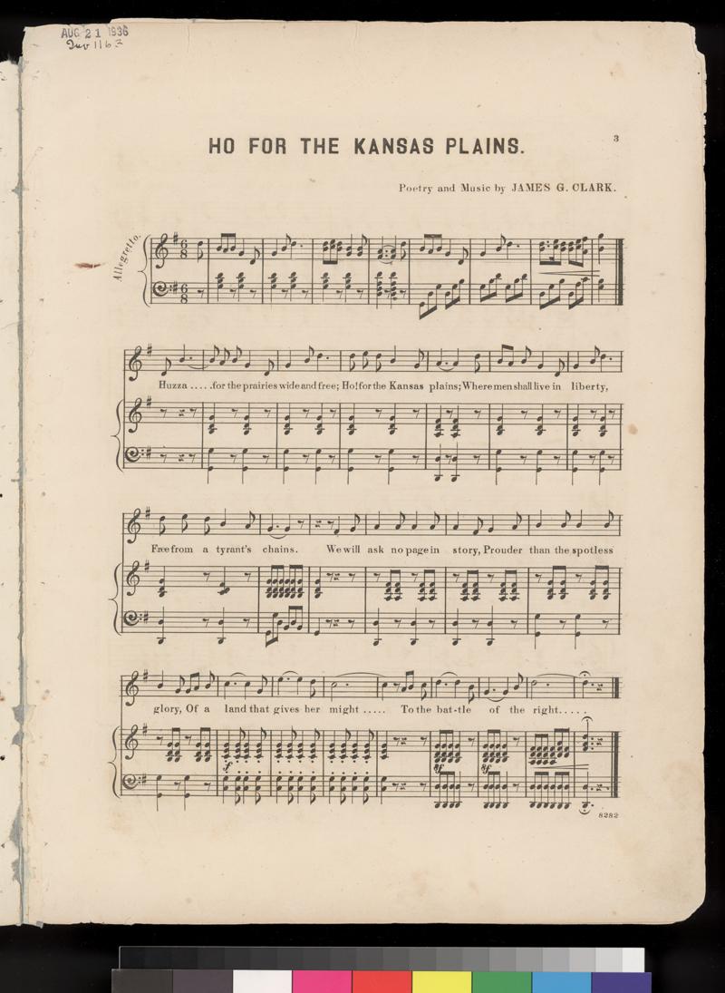 Ho! For The Kansas Plains - p. 3
