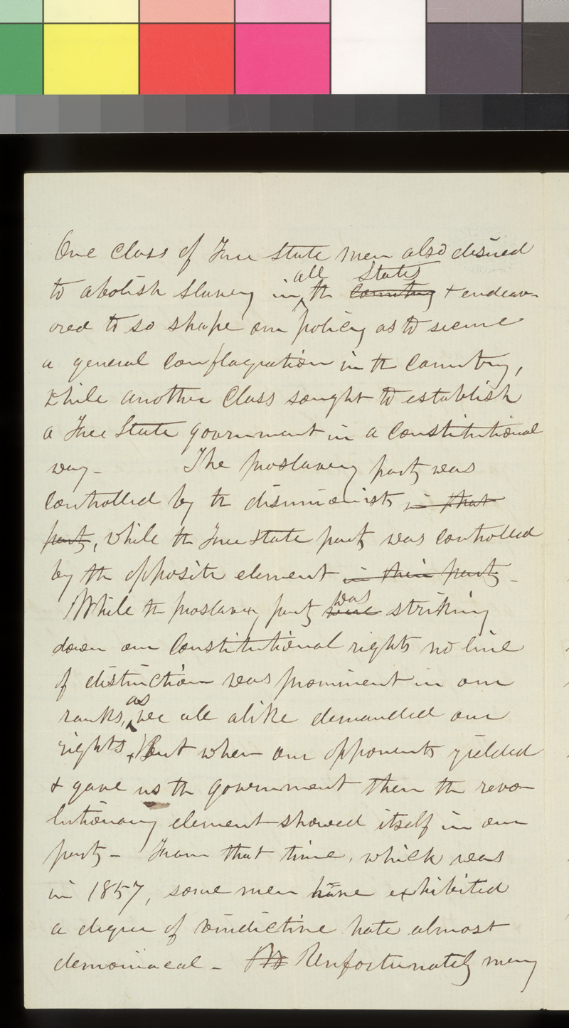 Charles Robinson to Emma Millard - p. 2