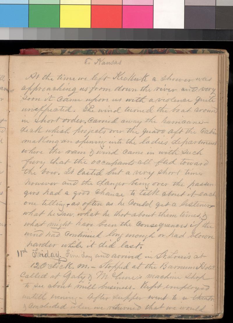 Joseph Trego's diary, 1857-1858 - p. 31