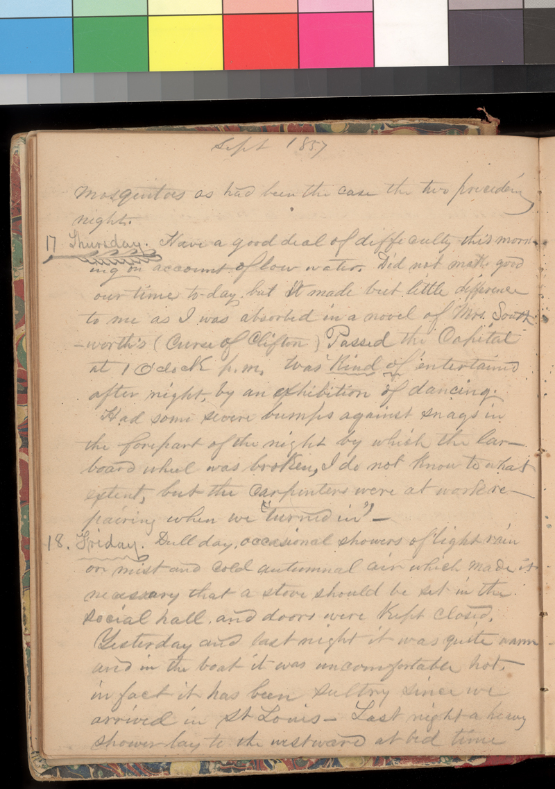 Joseph Trego's diary, 1857-1858 - p. 34