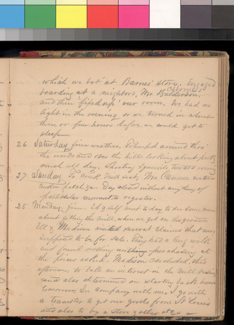Joseph Trego's diary, 1857-1858 - p. 39
