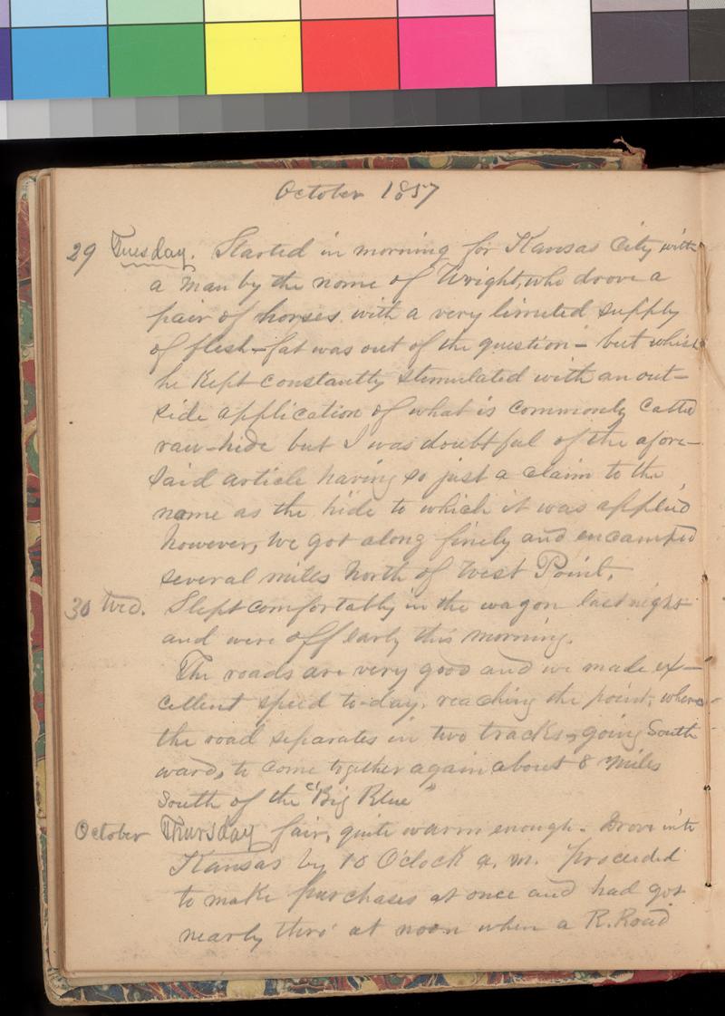 Joseph Trego's diary, 1857-1858 - p. 40