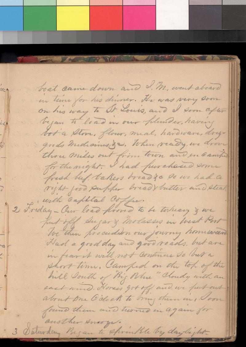 Joseph Trego's diary, 1857-1858 - p. 41