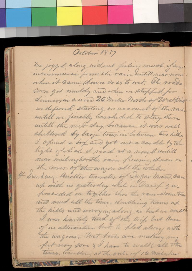 Joseph Trego's diary, 1857-1858 - p. 42