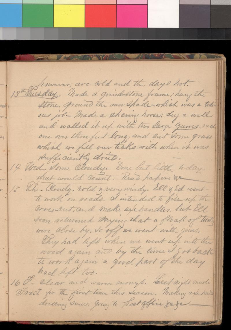 Joseph Trego's diary, 1857-1858 - p. 47
