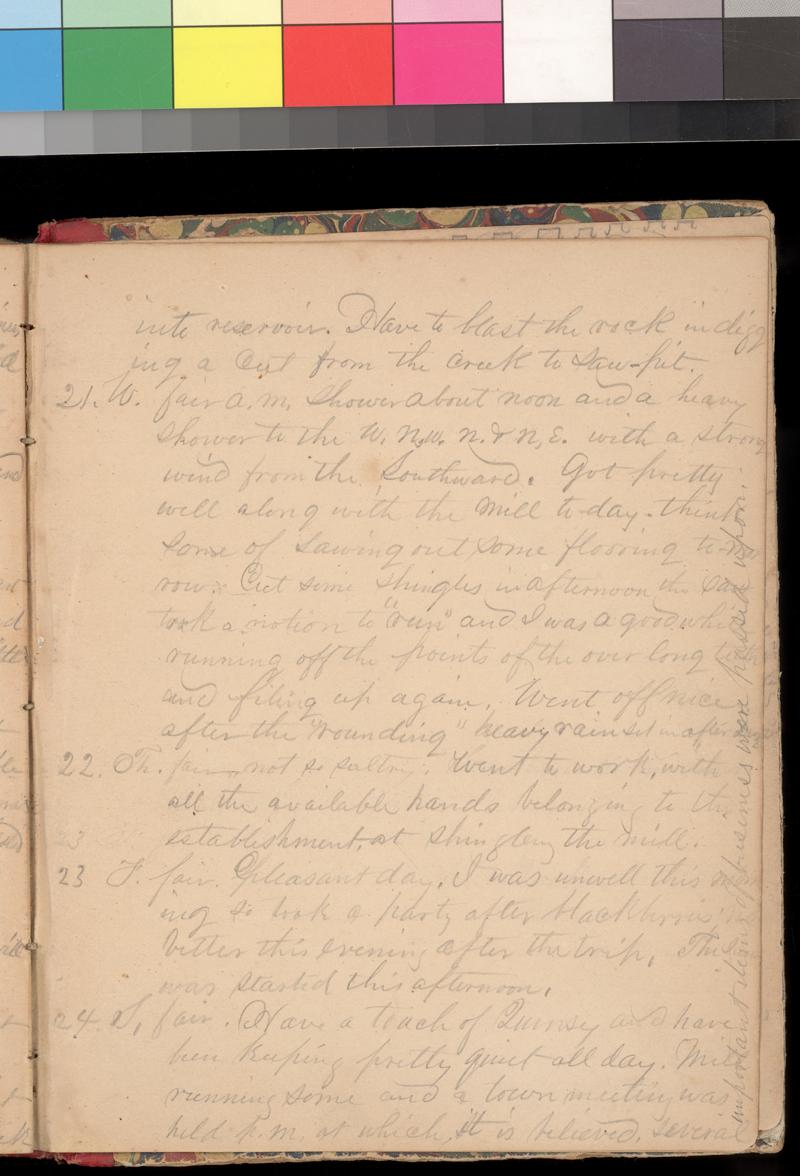 Joseph Trego's diary, 1857-1858 - p. 123
