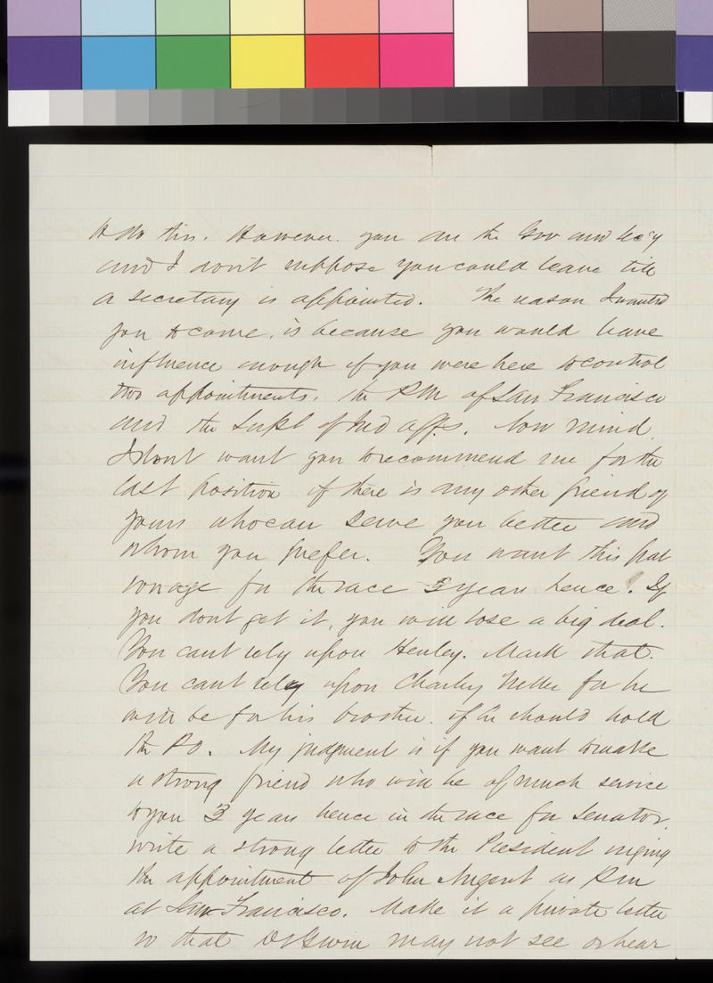 A. G. Bradford to James Denver - p. 2