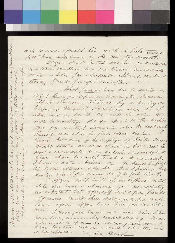 A. G. Bradford to James Denver - p. 4