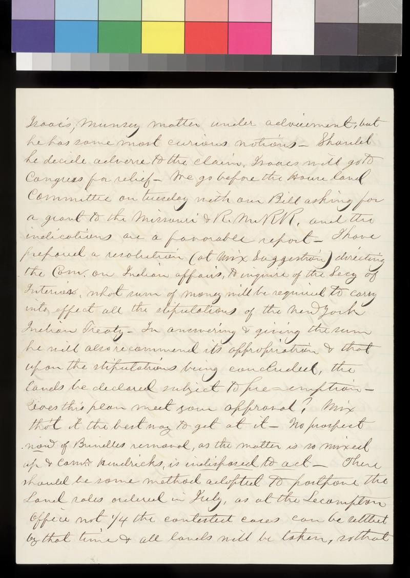 Robert S. Stevens to James W. Denver - p. 4