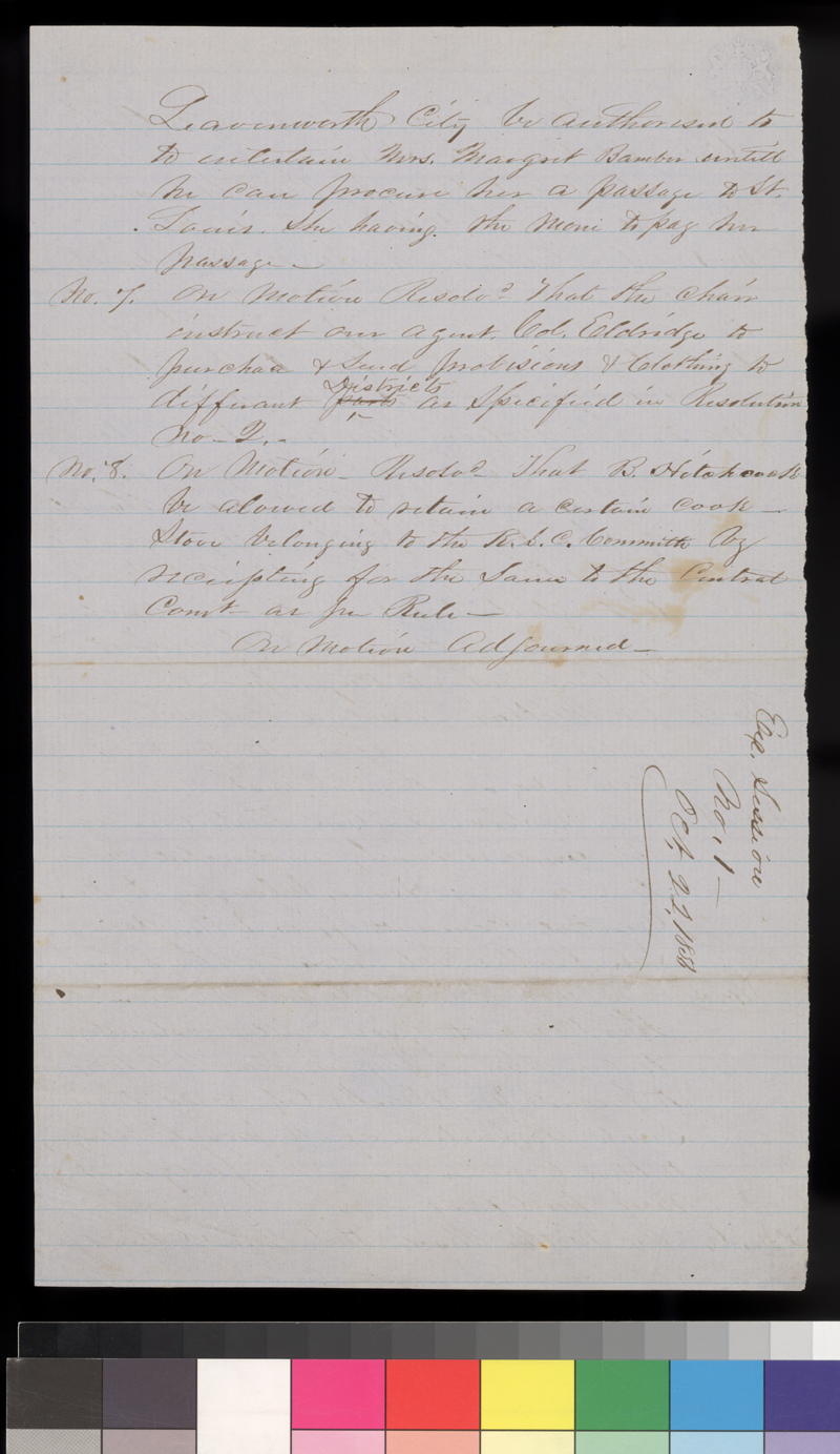 Minutes of Executive Committee, Kansas State Central Committee - p. 2