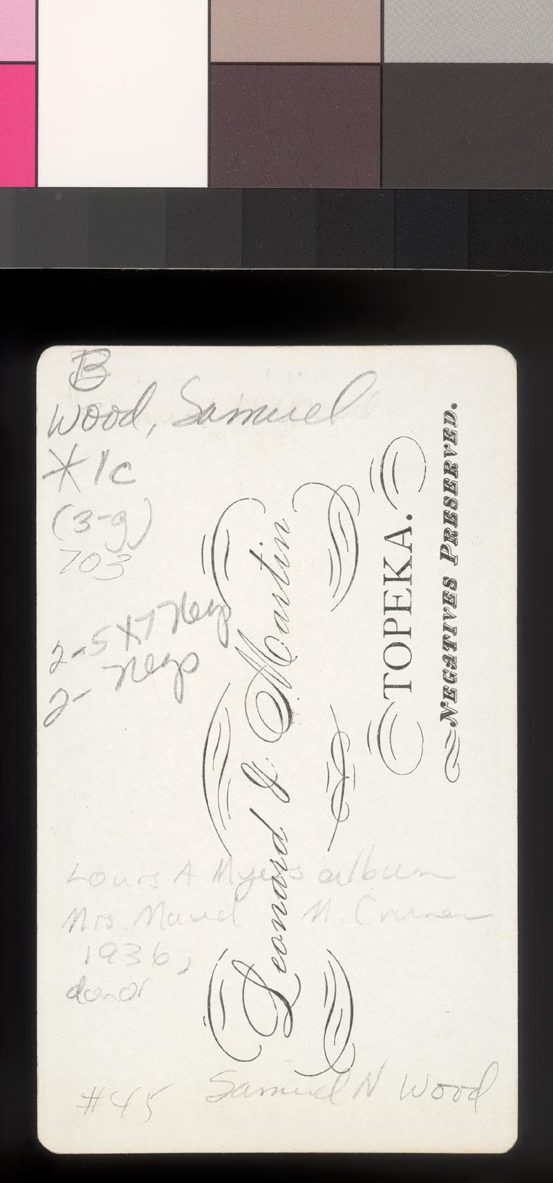 Samuel Newitt  Wood - p. 2