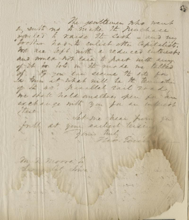 Thomas Ewing, Jr., to Judge M. F. Moore - p. 3