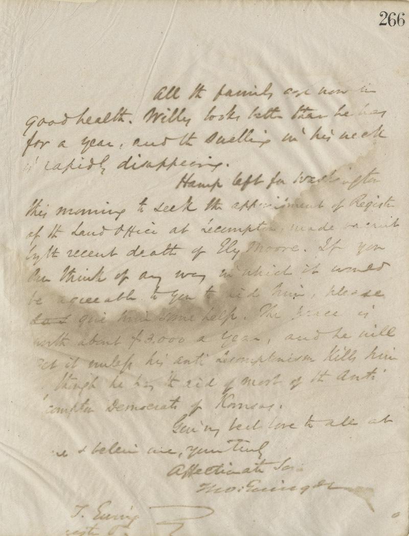 Thomas Ewing, Jr., to Thomas Ewing, Sr. - p. 6