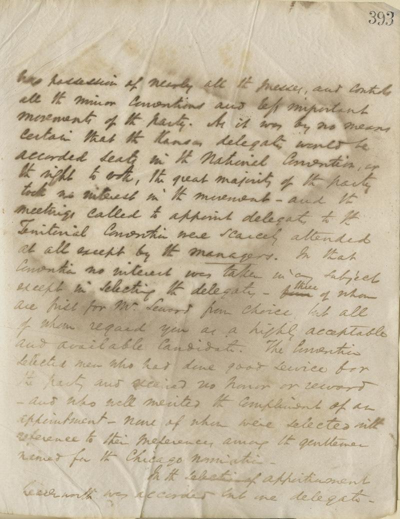 Thomas Ewing, Jr., to Abraham Lincoln - p. 2