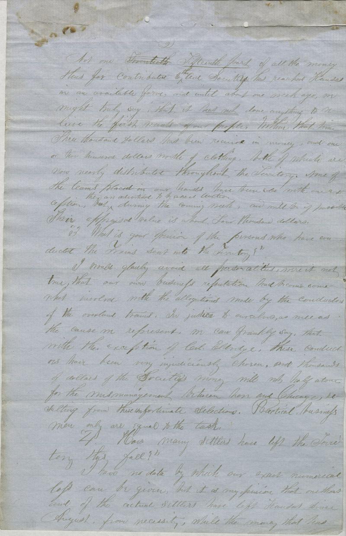 William Hutchinson to A. H. Shurtleff - p. 2